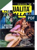 Attualità Gialla - L'Assassino Del Bisturi (1981) [Mostro di Firenze] [Porno]