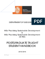Msc Psdh and Book 201516