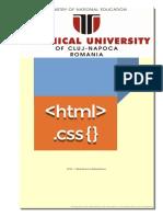 Manual vechi si depasit de HTML4