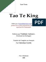 Tao Te Ching Francais
