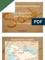The Reality of Saudi Arabia CCAC