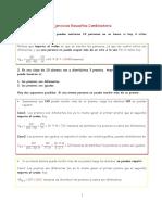 Ejercicios Resueltos Combinatoria