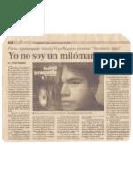 Yo No Soy Un Mitómano - Pedro Escribano