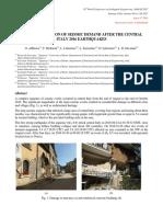Caracterizacion Demanda Sismica Despues Terremoto Centro Italia 2016