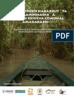Manuales de contenidos de capacitación para pueblos indigenas - Versión HARAKBUT