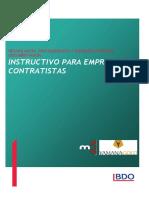 Instructivo Cerro Moro - Contratista Obra
