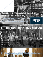 chapter 18 industrial revolution and society