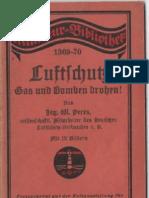 Luftschutz - Gas Und Bomben Drohen / Werner Peres