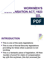 Workmen s Compensation Act 1923
