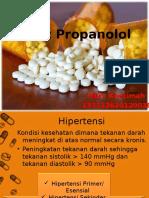Obat Propanolol