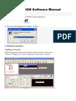 LEDVON POWERLED Software Operation Manual