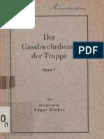 Gasabwehrdienst Der Truppe-Band 1 - Edgar Hieber