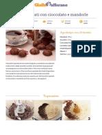 GZRic Biscottini Speziati Con Cioccolato e Mandorle