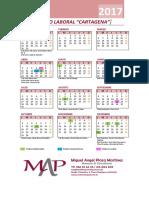 Calendario Laboral Cartagena 2016