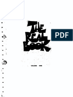 The Real Book of Jazz Volume I