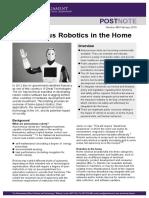 autonomous robotics in the home