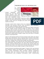 Makna Indonesia Raya