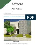Anteproyecto Aurea Nicolas