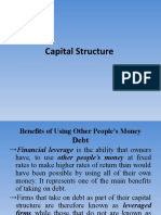Capital Structure of TCS