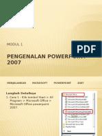 Pengenalan Powerpoint 2007