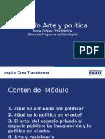 Presentación Módulo Arte y Politica 2