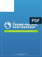 TPP Detailed Summary of US Objectives