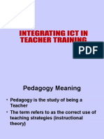 Integrating ICT