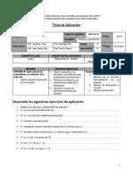 Ficha de Aplicación Conjuntos