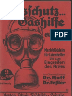 Gasschutz-Gashilfe gegn Giftgase / Ruff,Feßler