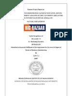Bigbazaar Catchment area Analysis, pattom, Trivandrum