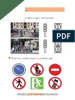 Ciencias Sociales Primaria Barrio Semáforos Señales