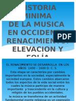 Musica Renacentista Dr.