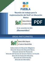 Reunion Sobre Sisat 2017 Puebla