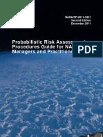 NASA Probabilistic Risk Assessment Procedures Guide
