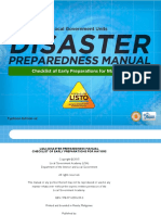 Local Government Unit Disaster Preparedness Manual