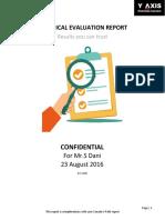 Evaluation Report - Migrate to Canada Dani