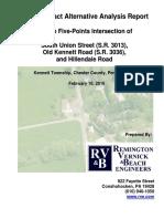 5-Points Trdegteetgnative Analysis Redegteetgrt February 17, 2016 (PDF)