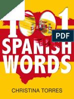Spanish_ 1001 Spanish Words - Christina Torres