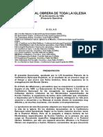 LA PASTORAL OBRERA DE TODA LA IGLESIA_Elías Yanes Álvarez