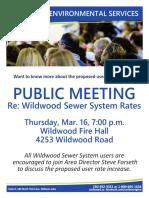 Wildwood Meeting 0317