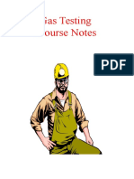 Gas testing COURSE NOTES.ppt