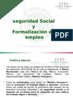 Seguridad Social Formalizacion Empleo