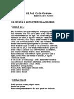23 - OS ORISAS E SUAS PARTICULARIDADES.rtf