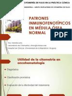 CITOMETRIA DE FLUJO Clase Fenotipo M.O