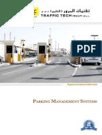 Parking Management Profile Traffic Tech