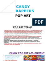 candy wrappers ppt