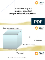 Perovskites Crystal Structure Important Compounds Properties