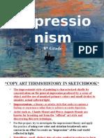 impressionism ppt 8th