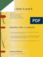 55B Krakatau Steel a and B