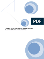 Dissertation on consumer behaviour